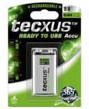 9V (8,4V) NiMH 200mAh Tecxus Ready To Use