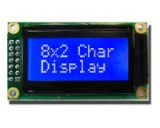 LCD displej RC0802A-TIW-ESV