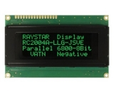 LCD displej RC2004A-LLG-JSVE