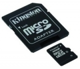 Kingston micro SDHC 32GB /10 + SD adaptér